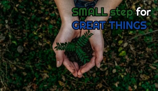 small steps for great things